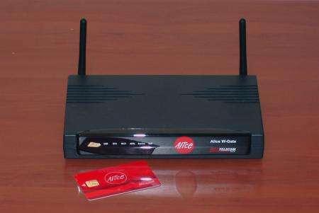 Alice W-Gate ottimo modem router wi-fi